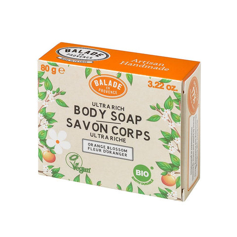 Balade en Provence Orange Blossom Body Soap - 80g - Eco and Earth