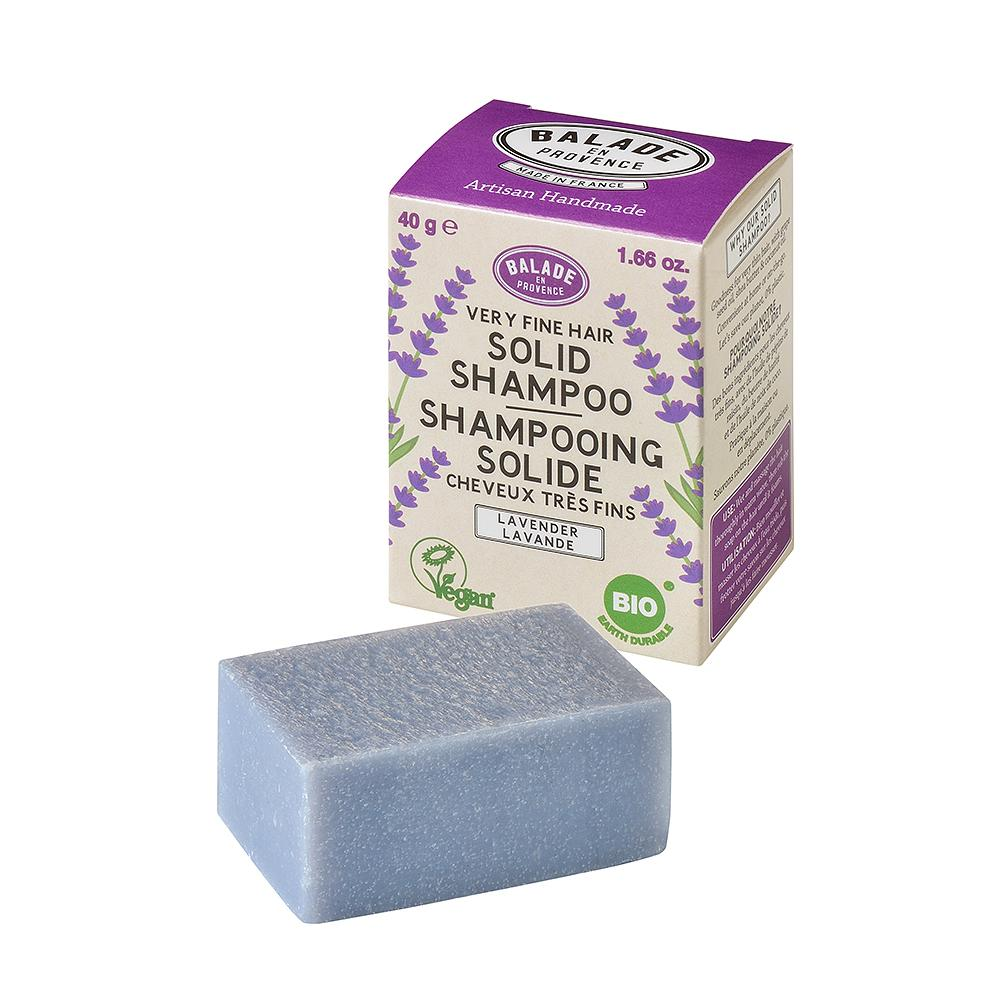 Lavender Solid Shampoo for Women - 40g - Eco and Earth