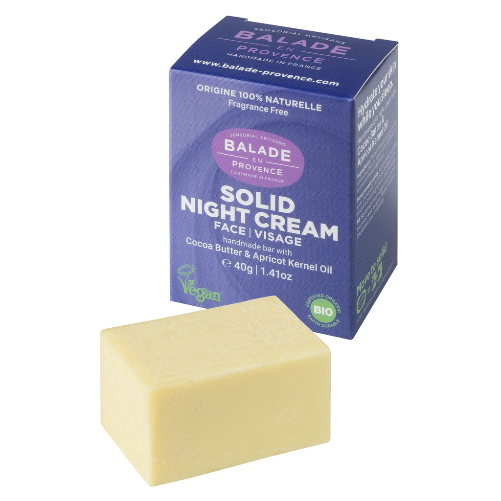 Solid Night Cream - Eco and Earth