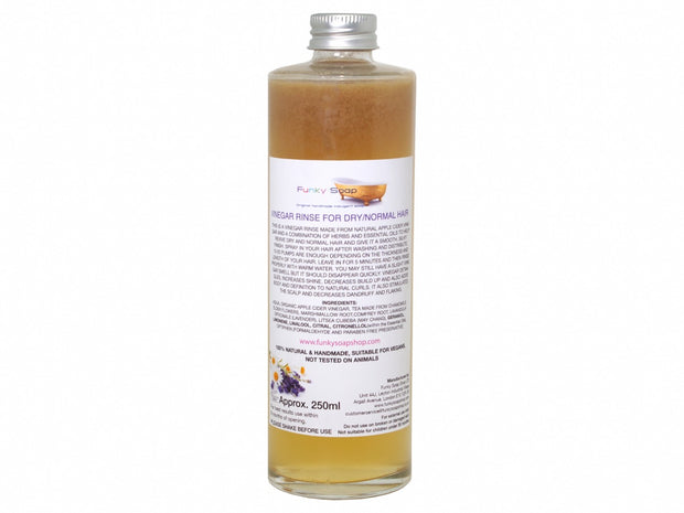 Funky Soap Vinegar Rinse for Dry & Normal Hair