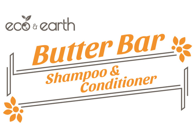 Eco & Earth Butter Bar Shampoo & Conditioner Bar