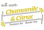 Eco & Earth Chamomile & Citrus Shampoo Bar for Blonde Hair