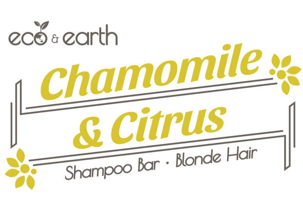 Eco & Earth Chamomile & Citrus Shampoo Bar for Blonde Hair - Eco and Earth