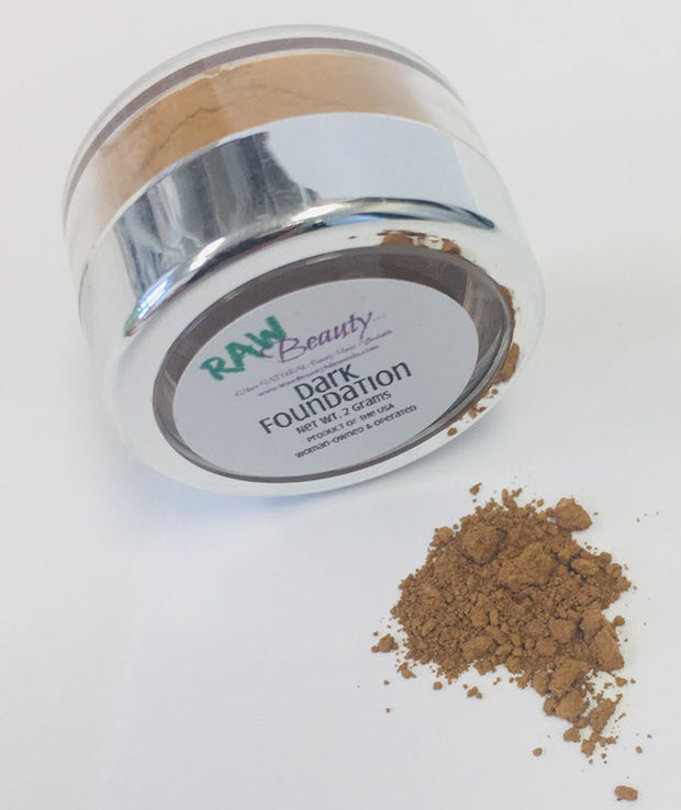Raw Beauty Natural & Vegan Mineral Foundation Powder