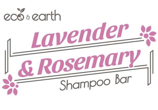 Eco & Earth Lavender and Rosemary Shampoo Bar - Eco and Earth