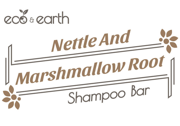 Eco & Earth Nettle and Marshmallow Root Shampoo Bar - Eco and Earth