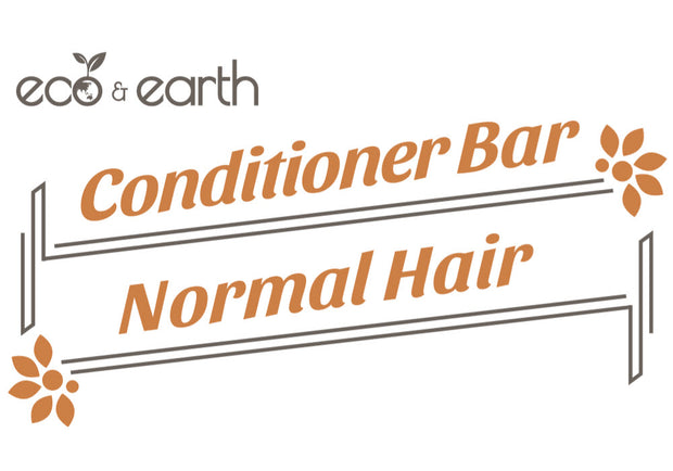 Eco & Earth Solid Conditioner Bar for Normal Hair