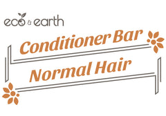 Eco & Earth Solid Conditioner Bar for Normal Hair - Eco and Earth