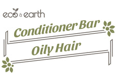 Eco & Earth Solid Conditioner Bar for Oily Hair - Eco and Earth