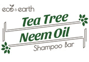 Eco & Earth Tea Tree Neem Oil Shampoo Bar - Eco and Earth