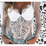 """LACE BODYSUIT"""