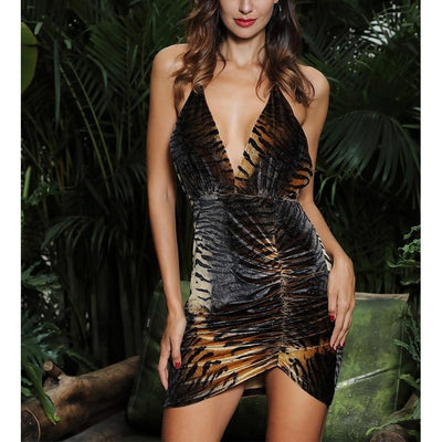 """TIGER MINI DRESS"""