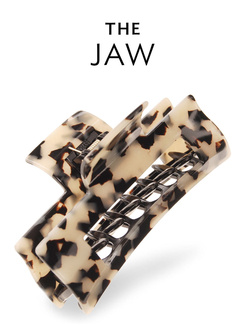Jaw and Claw hair clips by France Luxe and L. Erickson