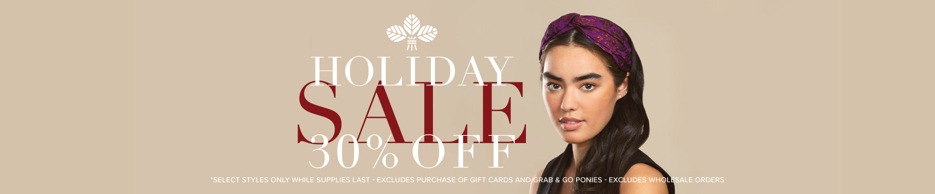 Holiday Sale on hair accessories