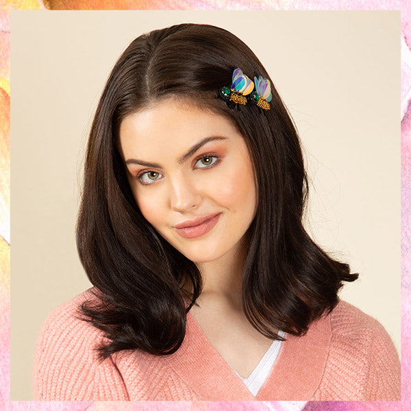30% Off new spring hair accessories - Bumble Bee Hair clips pictured