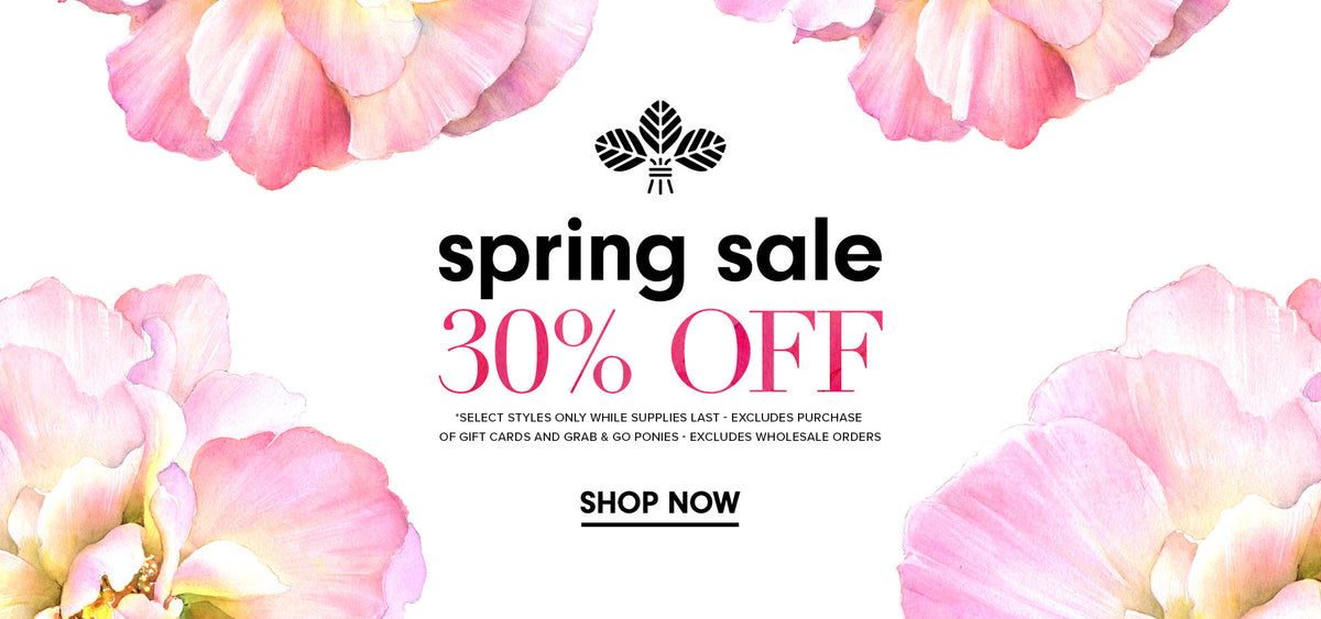 Spring Sale on Hair Accessories, Masks, Bath and Body.