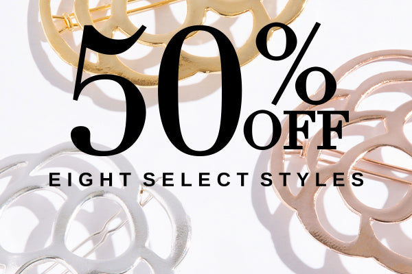 Sale - 50% OFF hair accessories
