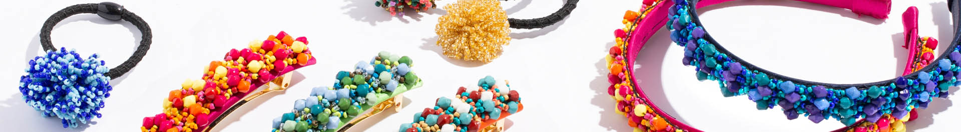 Beaded Hair Accessories by L. Erickson