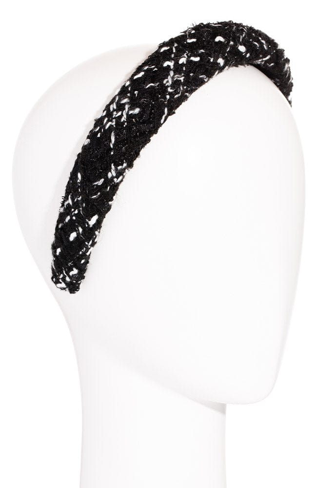 Padded Boucle Headband by L. Erickson