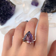 RESERVED FOR CHRISTINA - Deposit on watermelon tourmaline ring