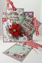 Poinsettia Pocket Christmas Card