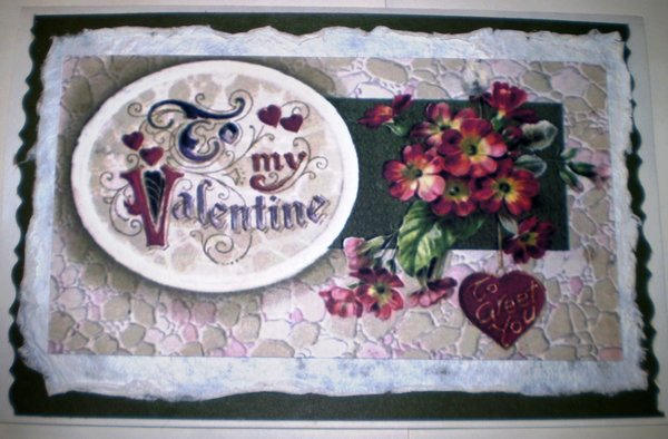 Always & Forever Reproduction of Vintage Valentine