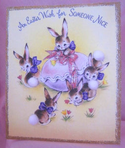 Vintage Easter Wishes For Someone Nice