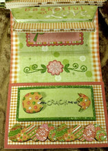 Easter Basket Easel Card w/Matching Envie