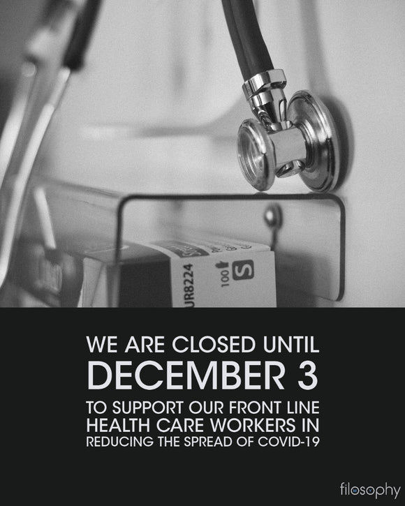 Temporarily Closing to Support Health Care
