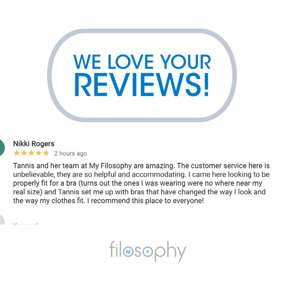 Nikki gives us a Google Review