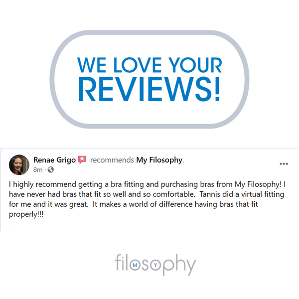 Renae's Bra Fitting Review