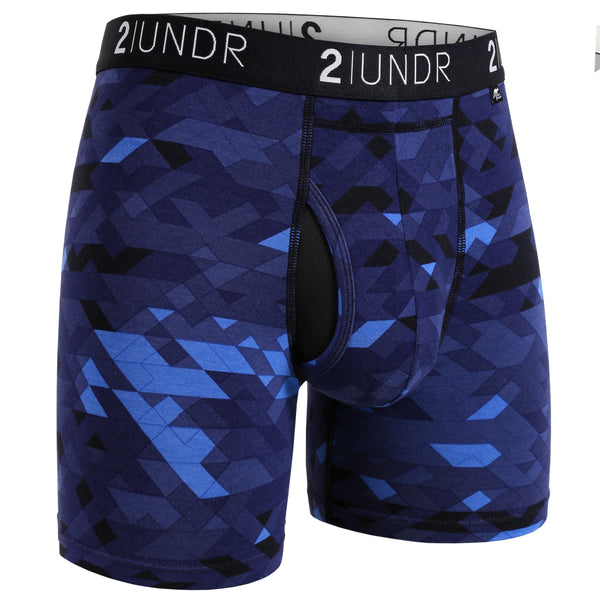 2Undr Swing Shift Boxer Brief Prints  - Geode