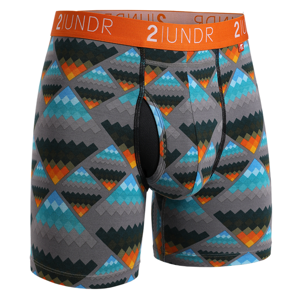 2Undr Swing Shift Boxer Brief Prints - Aztec