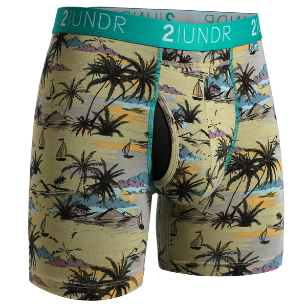 2Undr Swing Shift Boxer Brief Prints:  Cast Away