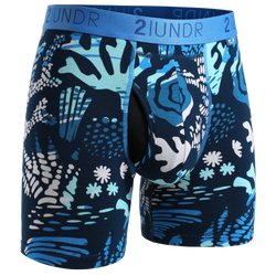 2Undr Swing Shift Boxer Brief Prints - Coral Reefer