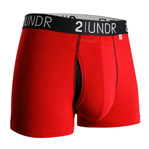2Undr Swing Shift Trunk Solid - Red