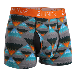 2Undr Swing Shift Trunk Print - Aztec
