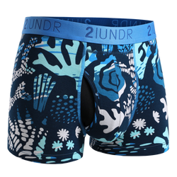 2Undr Swing Shift Trunk Print - Coral Reefer
