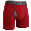 2Undr Day Shift Boxer Brief Solid - Red
