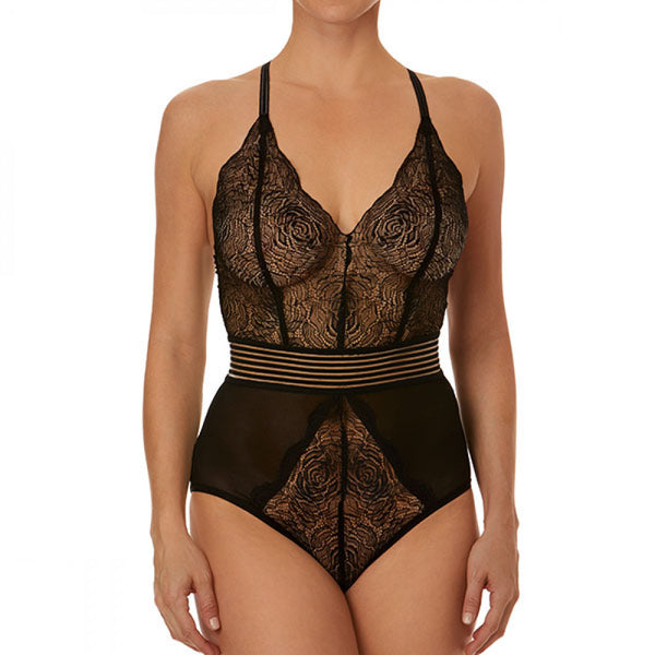 Hanky panky, sexy bodysuit, Katia, after midnight collection, black