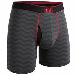 2 Undr Night Shift 6 inch Boxer Brief Prints