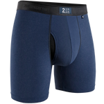 "2 Undr Night Shift 6"" Boxer Brief Solid"