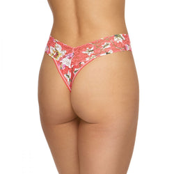 Hanky Panky Coral Floral Thong