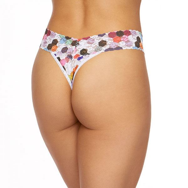 Hanky Panky Honeycomb Thong OR