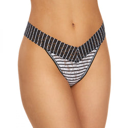 Hanky Panky Inside Out Stripe Thong