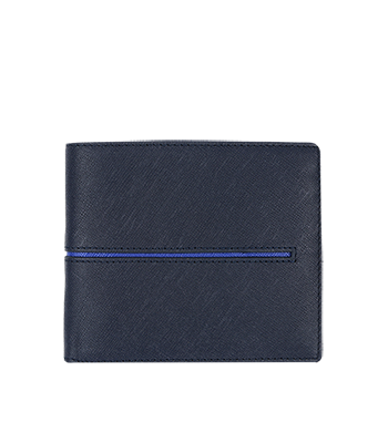 Bugatchi Wallet CW517 in Navy