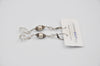 Joanna Bisley Silver Shadow Polygon with Platin Earring