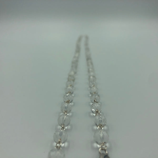 Joanna Bisley Rock Crystal Sterling Silver Necklace