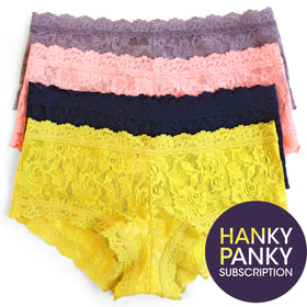 Hanky Panky for a Year:  Boy short Subscription Service