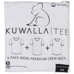 Kuwalla Tee Crew Neck Men Essential 3 pack